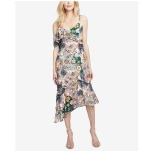 Rachel Roy Ruffled Asymmetrical Wonderlust Dress